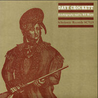 Bill Hayes - Davy Crockett Autobiography Read By Bill Hayes [New CD]