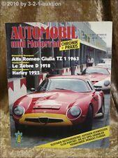 Automobil & Motorrad Chronik 7/84 Alfa TZ 1 Renault Flo