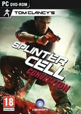Splinter Cell: Conviction - PC DVD-ROM - Tom Clancy's - BRAND NEW (Unsealed)