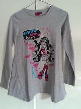 "Maglia Monster High ""Draculaura"" con tasche 10/11 cm 146 Originale Idea Regalo"