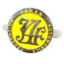 Japan Automobile Federation JAF METAL Emblem Badge For All Cars Front Grille YL