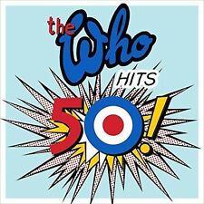 THE WHO 'WHO HITS 50' 2015 - 2 X 180G VINYL LP - NEW / SEALED / GATEFOLD