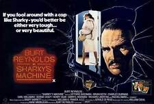 SHARKY'S MACHINE Movie POSTER 27x40 Burt Reynolds Rachel Ward Vittorio Gassman