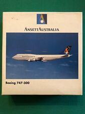 Boeing 747-300 Ansett Australia. Herpa Wings 1:500 - Art. nr. 503921