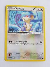 Rattata - Noir et Blanc Glaciation Plasma - 87/116 - Carte Pokemon Française