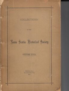 Book: The Postage Stamps of Nova Scotia by Donald King 1914 RARE!