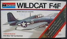 MONOGRAM 6798 - WILDCAT F4F - First Navy - 1:48 - Flugzeug Modellbausatz - Kit