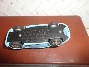 Vintage Dinky Toys Blue Superior Criterion Ambulance