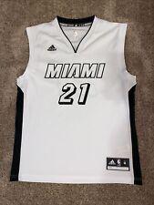 Men's Medium Adidas Miami Heat Hassan Whiteside NBA Jersey