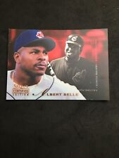 Albert Belle 1996 Select Certified Red #140 PP Pastime Power Cleveland Indians