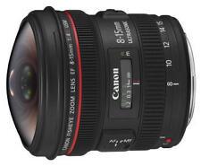 Objektiv Canon EF 8-15mm f/4L Fisheye USM lens