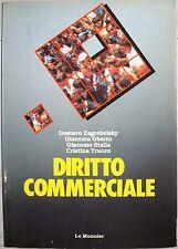 X 0986 VOLUME DIRITTO COMMERCIALE DI ZAGREBELSKY/OBERTO/STALLA/TRUCCO 1° ED 1990