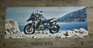 Fahne Werbung Banner für BMW Fans R1200GS GSA Adventure R 1200 GS LC