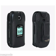 Samsung Gusto 3 Premium Leather Case with Swivel Belt Clip Verizon Ori