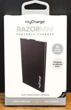 myCharge 1650mAh RazorMini Portable Battery Charger for Phone Device