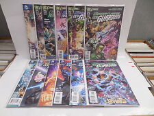Green Lantern DC New 52 Comic Books 2-13 Yellow Rings Third Army