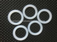 "5PCS 1.5"" Sanitary Tri Clamp Silicon Gasket Fits 50.5mm Type Ferrule Flange S3"