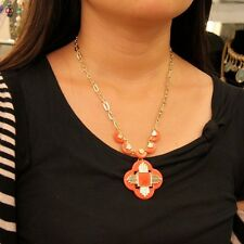 Halskette Anhänger das Kreuz Koralle modern Original Abend Ehe qt 6