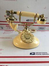Vintage TeleConcept European Style Push Button Phone - Model 516042 KOREA