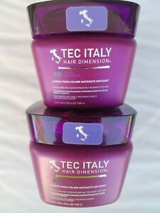 2 New Tec Italy Hair Dimension Lumina Forza Colore Matizante Treatment for Hair