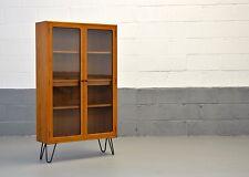 Retro Mid Century G Plan Fresco Scandinavian Teak Bookcase Shelves Hairpin Legs