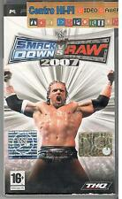 SONY PSP SMACK DOWN VS RAW 2007 USATO GARANTITO