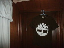 Timberland t-shirt short sleeve brown with white Timberland tree size XS/TP new