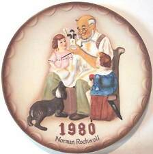 Norman Rockwell The Toymaker Collector Plate, 1980, 1st Annual