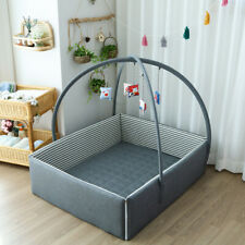 Baby bumper bed (Charcoal).