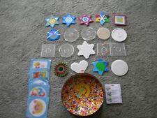 Petit transparent round peg board for hama midi perles 222tr