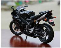MAISTO 1:12 DIECAST MOTORCYCLE BIKE MODEL For Yamaha YZF R1 TOYS Gift Black