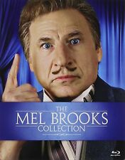 Mel Brooks Collection Spaceballs Robin Hood Silent Movie High Anxiety 9 Blu-ray