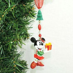 DISNEY Figur Ornament * MINNIE MOUSE * Christbaum Weihnachten Disneyland Paris