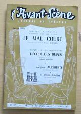 Avant Scène théatre n°137 Le mal court Jacques Audiberti