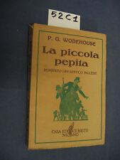 P. G. Wodehouse LA PICCOLA PEPITA (52 C 1)