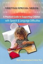 Meeting Special Needs: Speech and Language Difficulties by Teaching Solutions...