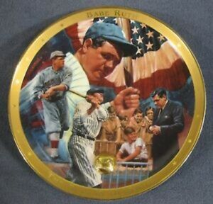 Franklin Mint/Royal Doulton Babe Ruth Sultan of Swat Collector's Plate