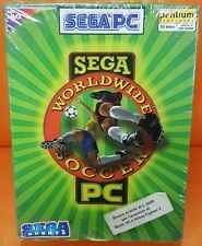 SEGA PC WORLDWIDE SOCCER BIG BOX PC ITA NUOVO SIGILLATO INTEL MMX