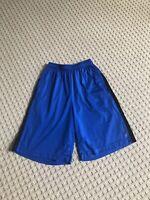 Reebok Crossfit Mens Speedwick Athletic Shorts Size Medium Solid Blue