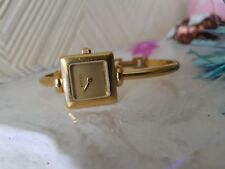 LADIES Gucci 1900 L Bangle Watch, gold face  Dial 18ct Gold Plated