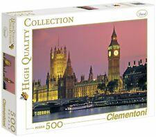 CLEMENTONI PUZZLE HD COLLECTION 500 PEZZI BIG BEN LONDRA 30378