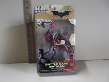 "Batman Begins Battle Cape Batman 5.5""in Action Figure Power tek Mattel 2005"