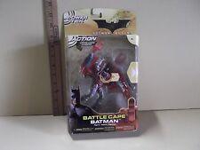 "Batman Begins Battle Cape Batman 5.5""in Action Figure Power tek Mattel 2005"