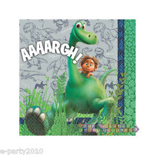 THE GOOD DINOSAUR SMALL NAPKINS (16) ~ Birthday Party Supplies Beverage Disney
