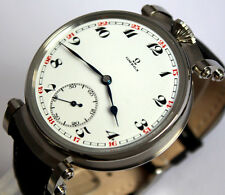 Superb OMEGA swiss Jumbo Art Deco Style mariage ARMBANDUHR Wrist Watch ca.1915