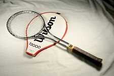 "Wilson T-2000 T2000 Jimmy Connors Tennis Racquet 4-5/8"" Rare Welded Throat (44)"