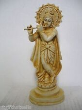 "Krishna Statue - 7"" Resin - Symbol of Love, Devotion"