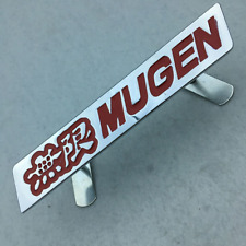 Red Alloy Mugen Power Logo Front Grille Emblem Badge For Honda Accord Civic Fit