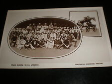 Old Postcard Trick riders of 16/5th Lancers Southern command Tattoo  c1920s