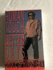 BRUCE SPRINGSTEEN -Human Touch/Better Days  Cassette single, Still Sealed New